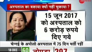 Morning Breaking: Jayalalithaa's hospital bill still pending - ZEENEWS