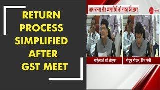 GST Council meet: Simpler return process approved - ZEENEWS