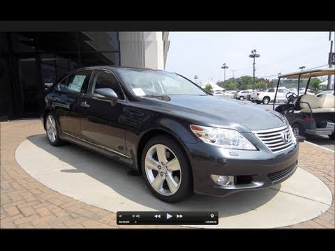2011 Lexus LS460 L Start Up, Engine, and In Depth Tour