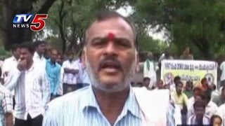 Singareni Retired Employees Families Dharna at Ramagundam : TV5 News - TV5NEWSCHANNEL