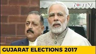 Gujarat Leads Show BJP Ahead But Congress Reducing Gap - NDTV
