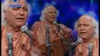 Jalsa 19 July 09: 2. Pt Jasraj sings Sanskrut bhajan 'bhaje basantam' in raag mishra kafi