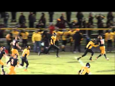 (11) Malcolm X Shabazz Football Offense Highlights