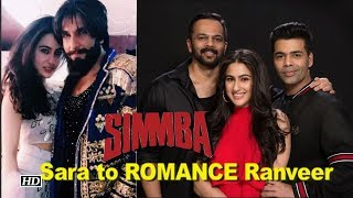 Sara Ali Khan to ROMANCE Ranveer Singh in 'Simmba' - IANSLIVE