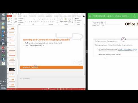 Using Windows 8.1 Split Screen with OneNote Modern App