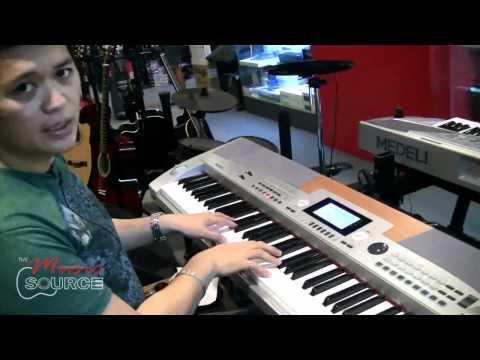 Medeli SP5500 demo for The Music Source Part I