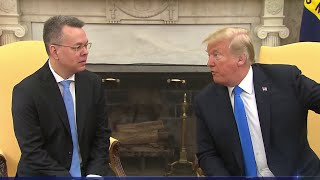 Pastor Andrew Brunson Meets With Trump After Release From Detention In Turkey | NBC Nightly News - NBCNEWS