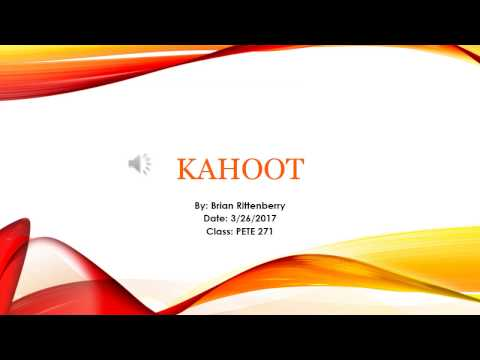 How to use Kahoot