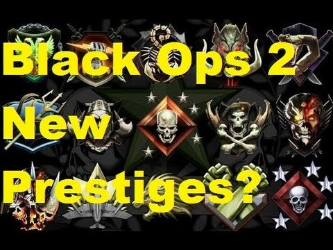 Black Ops 2- New Prestiges?