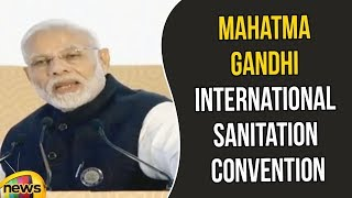 PM Modi Addresses the Closing Session of the Mahatma Gandhi International Sanitation Convention - MANGONEWS