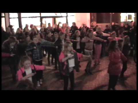 Flashmob dansschool Vesters zumba kids