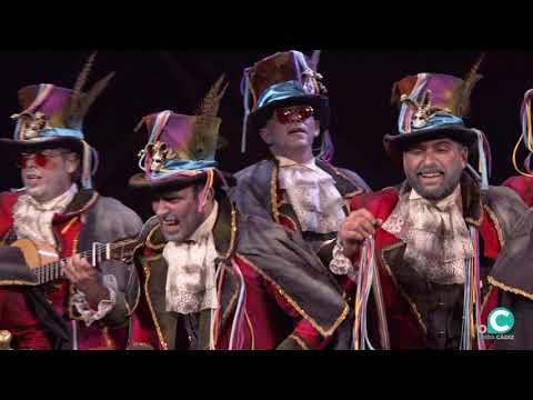 La agrupación El cascarrabias Cuento de carnaval llega al COAC 2020 en la modalidad de Comparsas. En años anteriores (2019) concursaron en el Teatro Falla como El hombre del saco, consiguiendo una clasificación en el concurso de Preliminares.