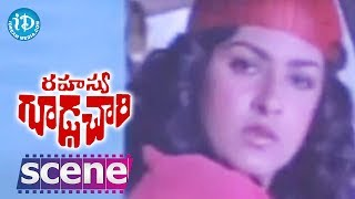 Rahasya Gudachari Movie Scenes - Jayaprada Falls In Love With Krishna || Krishna || Jayaprada - IDREAMMOVIES