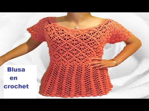 Blusa de piñas - arañitas - rombos en crochet - punto fantasia - crochet viral parte 2 de 2