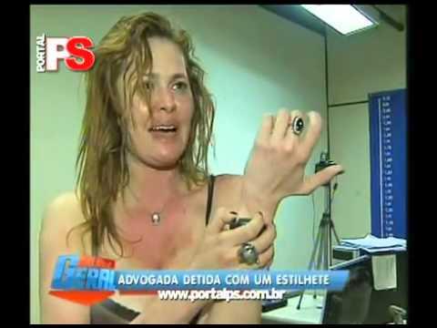 Advogada bêbada bate na cara do policial