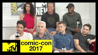 Teen Wolf Live Stream w/ Tyler Posey, Holland Roden & More! | Comic-Con 2017 | MTV - MTV