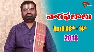 Rasi Phalalu | April 08th to April 14th 2018 | Weekly Horoscope 2018 | TeluguOne - TELUGUONE