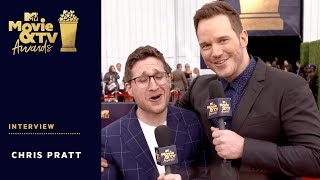 Chris Pratt on 'Jurassic World' & Upcoming Projects | 2018 MTV Movie + TV Awards - MTV