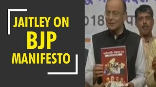Arun Jaitley on BJP's manifesto for MP elections 2018 - ZEENEWS