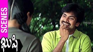 Bhumika Misunderstands Pawan Kalyan | Kushi Movie | Ali | SJ Surya | Mani Sharma - TELUGUFILMNAGAR