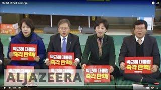 The fall of Park Geun-hye - ALJAZEERAENGLISH
