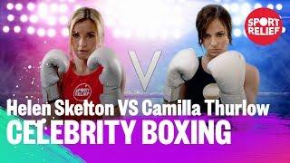 Helen Skelton vs Camilla Thurlow | Celebrity Boxing - Sport Relief 2018 - BBC - BBC