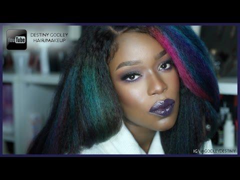 Chocolate Mermaid | Makeup + Hair tutorial