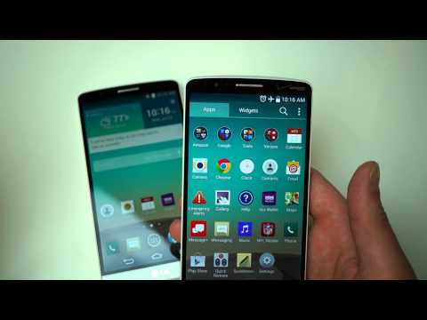 Verizon LG G3 Hands-on (AT&T comparison too)
