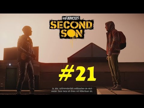 #21 Let's Play Infamous Second Son (DE/Full HD/Blind)-Engelschaar