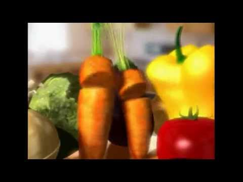 Singing vegetables