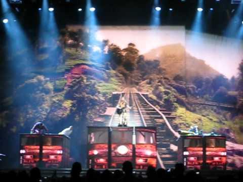 """""""I'm a Sinner"""" (beginning) - Madonna - MDNA Tour Opener in Tel Aviv"""