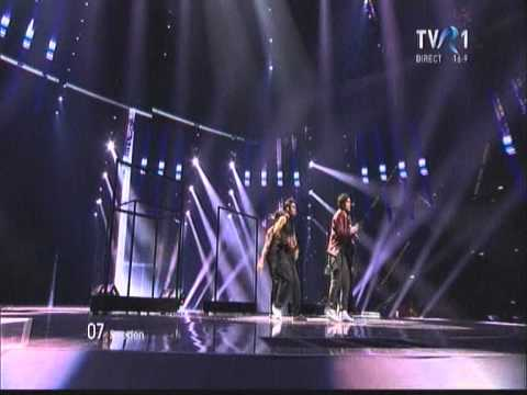 HD EUROVISION 2011 Sweden -- Eric Saade -- Popular (Final) 3-rd place