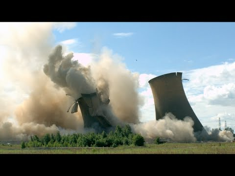 Power Stations Collapsing In Slow Motion