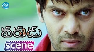 Varudu Movie Scenes - Bhanusri Mehra Express Her Love With Allu Arjun    Arya - IDREAMMOVIES