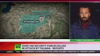 Over 100 security killed in Taliban attack on Afghan military training center – reports - RUSSIATODAY