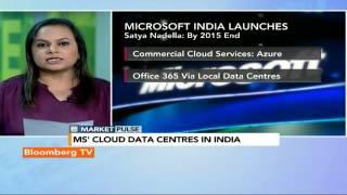 Market Pulse: Microsoft Cloud Data Centres In India - BLOOMBERGUTV