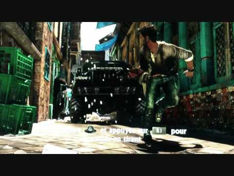 Uncharted 2 Among Thieves ( PS3 ) (Live) Test Demo part 1