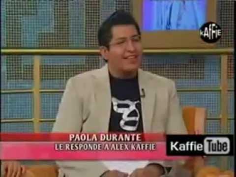 ALEX KAFFIE VS PAOLA DURANTE