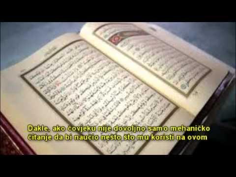 Da li će biti nagradjen čitač Kurana koji ne razumije šta čita