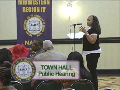 NAACP Town Hall Meeting on Crime and Violence Prevention