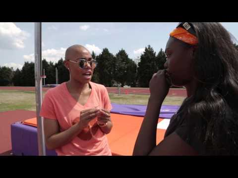 Athletics 101 || High Jump with Mimi Land