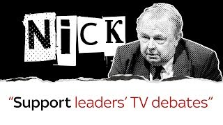 Nick Ferrari on leaders' TV debates - SKYNEWS