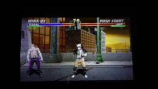 PSP - Midway Arcade Treasures Extended Play - Mortal Kombat 3 gameplay view on youtube.com tube online.