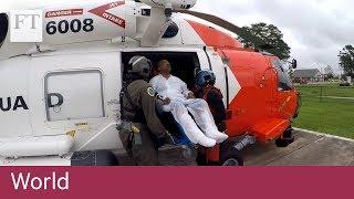 US Coast Guard rescues hurricane victims - FINANCIALTIMESVIDEOS
