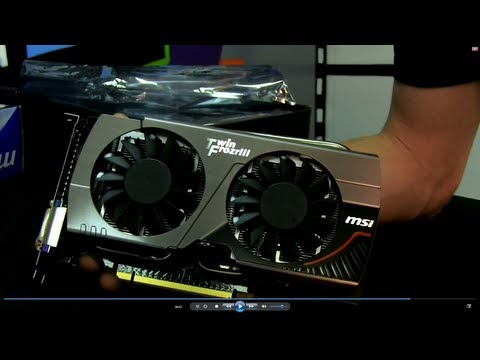 GTX 660 MSI GeForce Twin Frozr Edition Video Card Unboxing &amp; First Look Linus Tech Tips