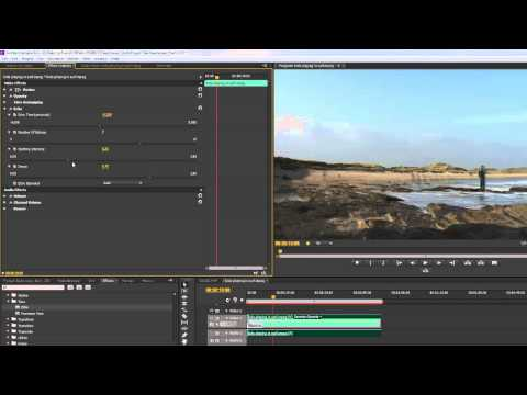 Premiere Pro CS6 Techniques: 95 Time 4: Playing with Echoes