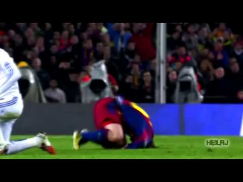 Lionel Messi vs Roberto Carlos, Cristiano Ronaldo, Nani, Cole, Ramos and more...