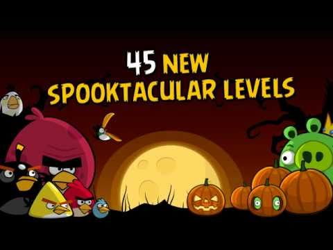 New Angry Birds Halloween Special Edition video game levels
