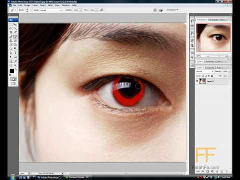 How to change Eye Color (PhotoShop CS3)