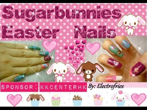 Sugar Bunnies Easter Nails 糖兔子復活節釘